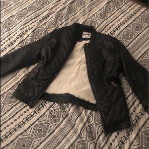Juniors leather jacket